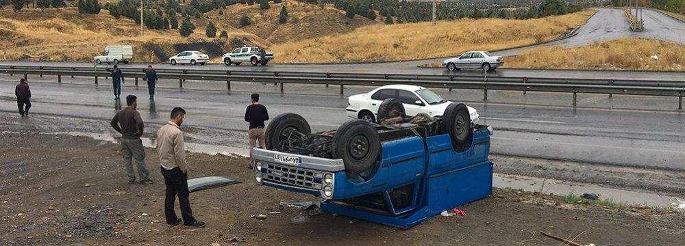 Road Death Toll Rises Nationwide