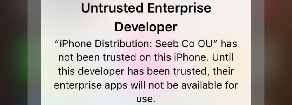 Apple Crackdown Renders Iran iOS Apps Useless