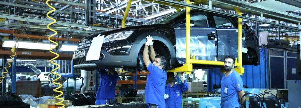 Iran 10-Month Auto Production Report