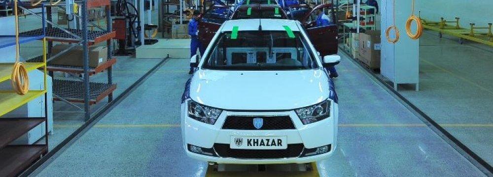 Iran Carmakers Expanding Operations in Syria, Azerbaijan