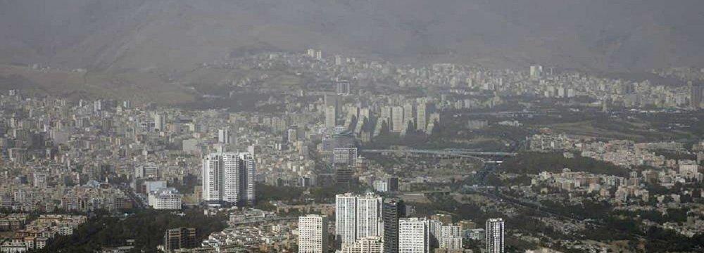 Tehran Ozone Pollution Wanes