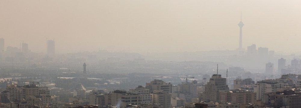 Heavy Smog Engulfs Tehran