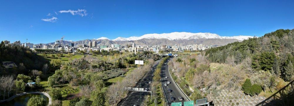Tehran Air Improves in November