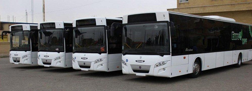 Tehran to Invest $19.5m on Upgrading Public Bus Fleet