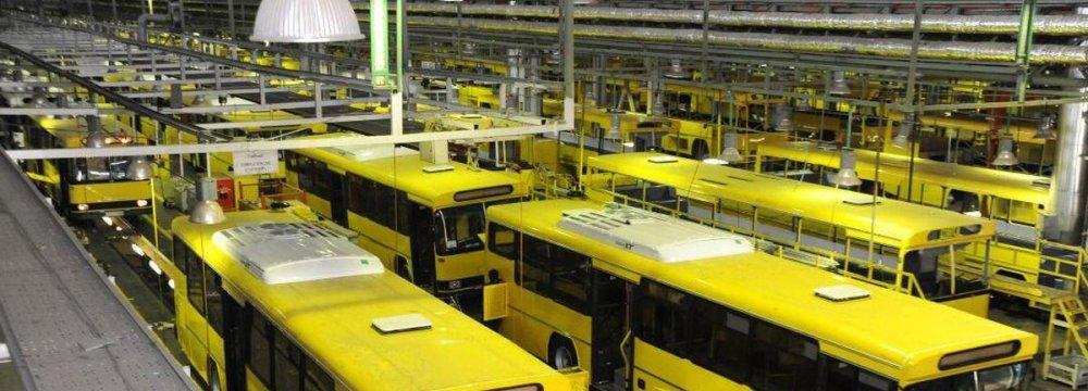 IKCO Restarts Bus Production