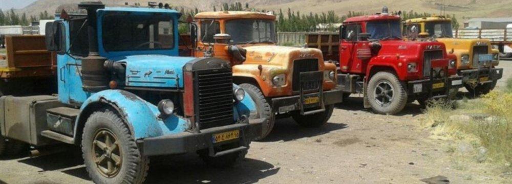 ½ Million Dilapidated Trucks in Iran