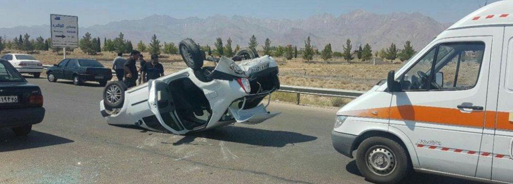 Road Death Toll Rises in Iran