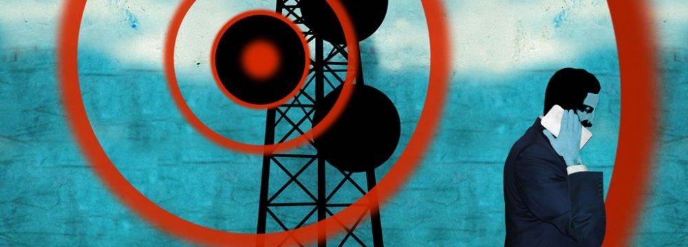Electromagnetic Radiation Online Monitoring System in Tehran, Shiraz