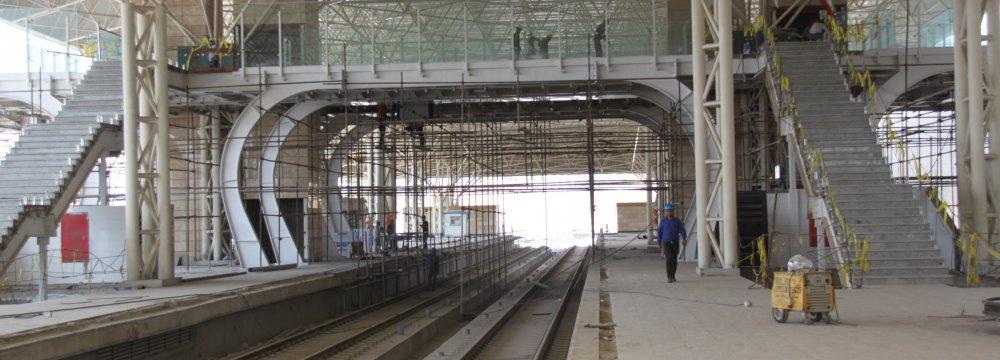 Tehran-Karaj Metro Reaching Hashtgerd