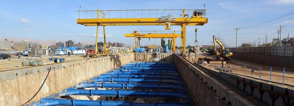 Shiraz, Tehran Accelerating Subway Expansion Projects
