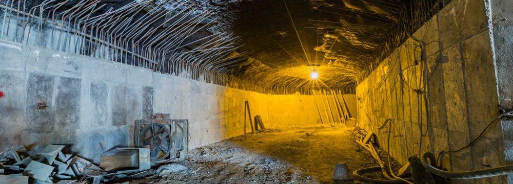 Karaj, Qom Subway Projects Progressing at Snail's Pace