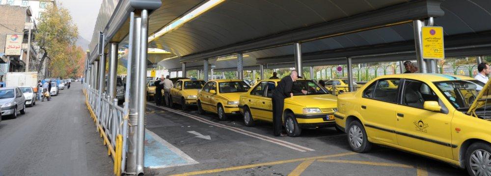Karaj Bearing Brunt of Dilapidated Cabs