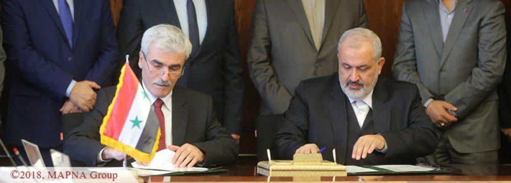 Iran's MAPNA Helping Rebuild Syria Power Infrastructure