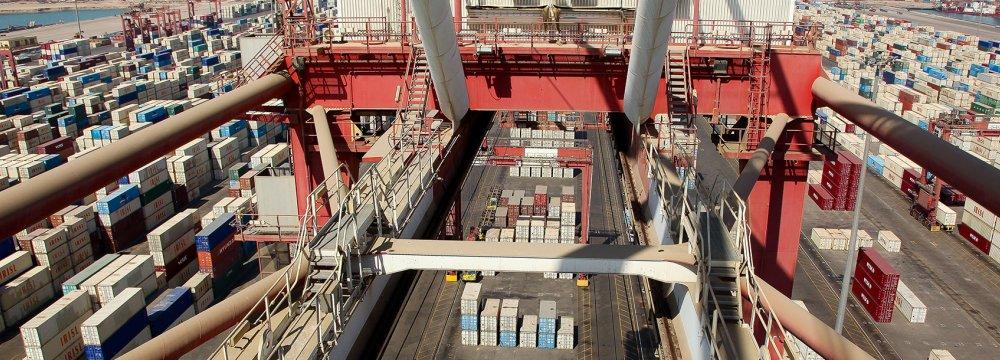 Intermediate Goods Grab Lion's Share of Iran Imports