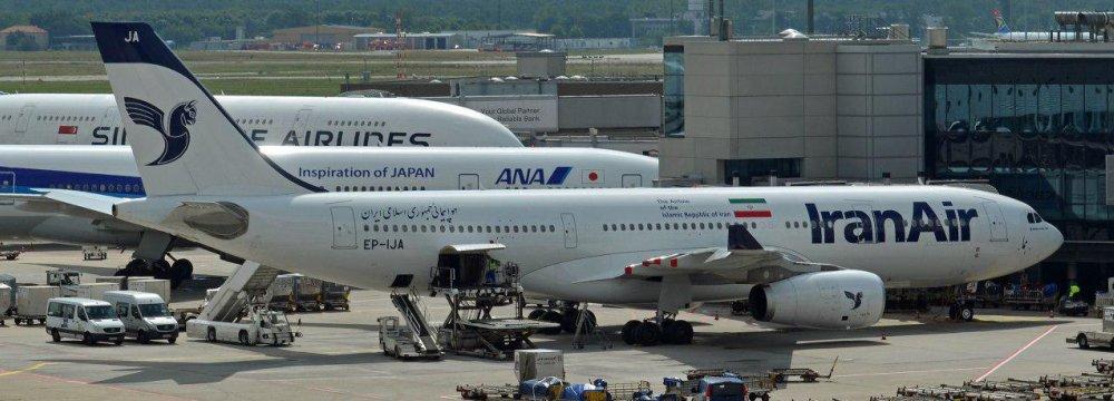 Iranians' Outbound Flights to Popular Destinations Halved