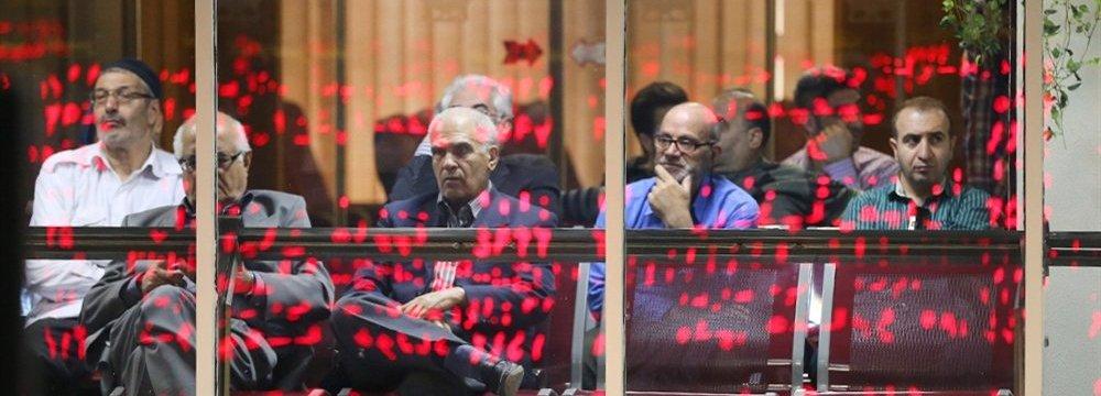 Tehran Stocks Retreat to 3-Month Low
