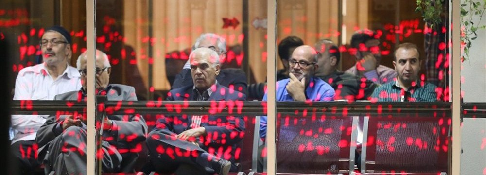 Tehran Stocks Close on High Note