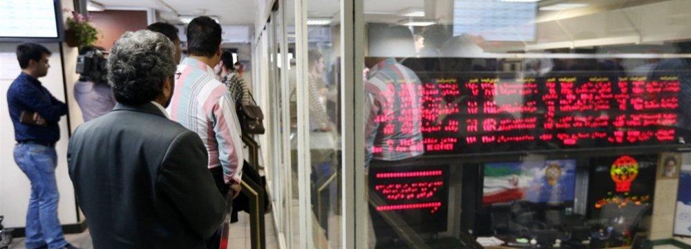 Tehran Stock Exchange Weekly Trade Up 56%