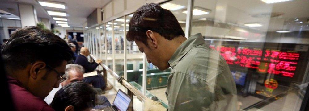 Tehran Stocks Gain After Buoyant Data