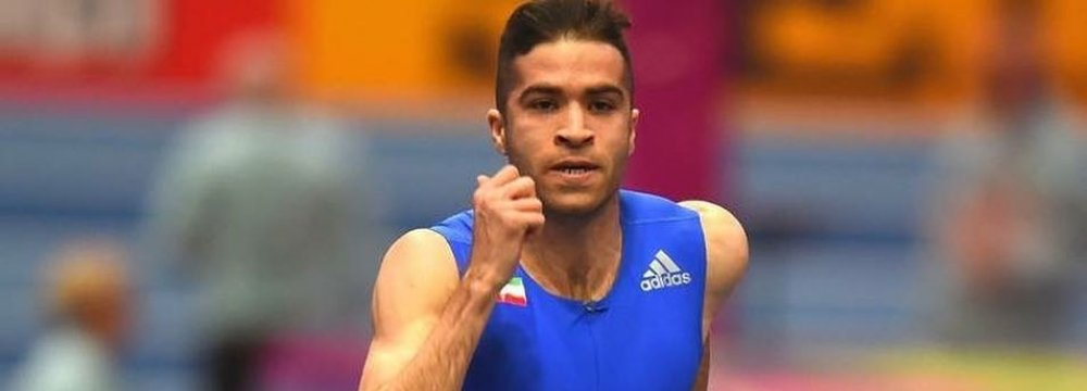 Sprinter Taftian Grabs Gold