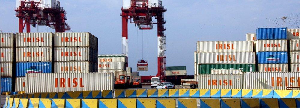 Throughput at Iran's Major Ports Down 7.3% in H1