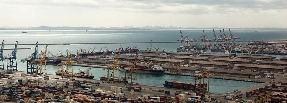 Hormozgan Ports Throughput  Up 7.4%