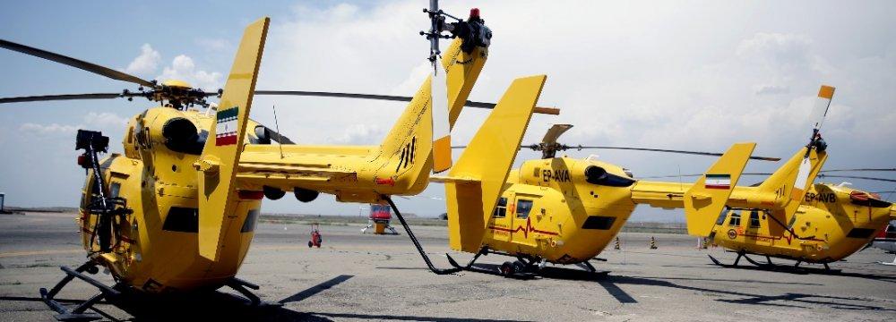 Iran's EMS Starts Operating 6 New Airbus Air Ambulances