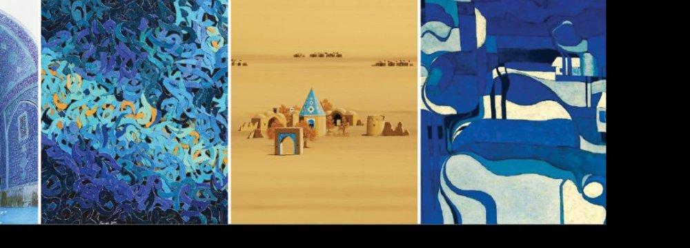 precious Lapis Lazuli Effect on  Artworks Displayed in Ahvaz