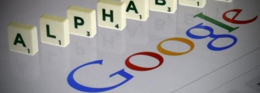 GoogleEstablishesAlphabet Holding Company