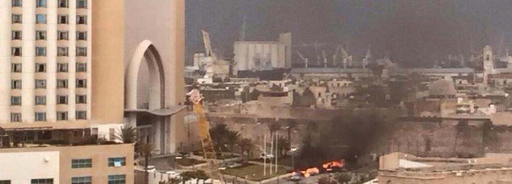 8 Dead in Libya Hotel Attack