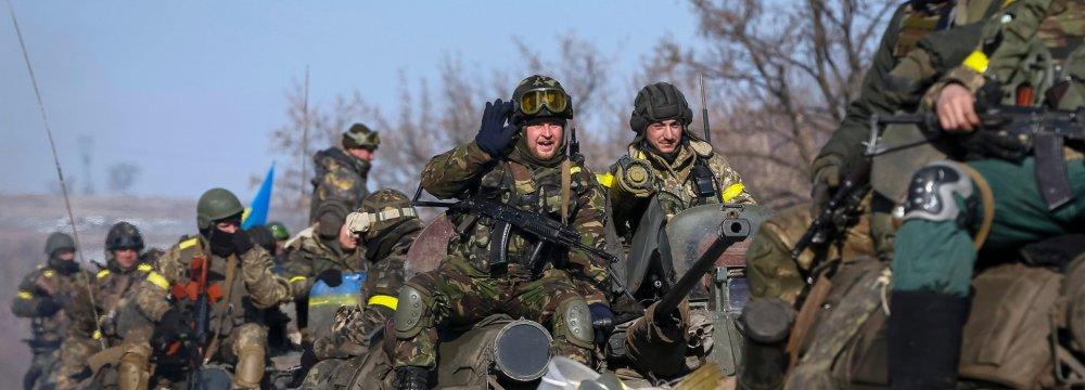Guns Fall Silent in Ukraine