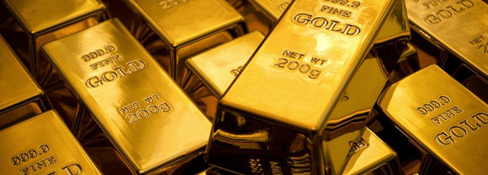 Gold Falls 1.4%