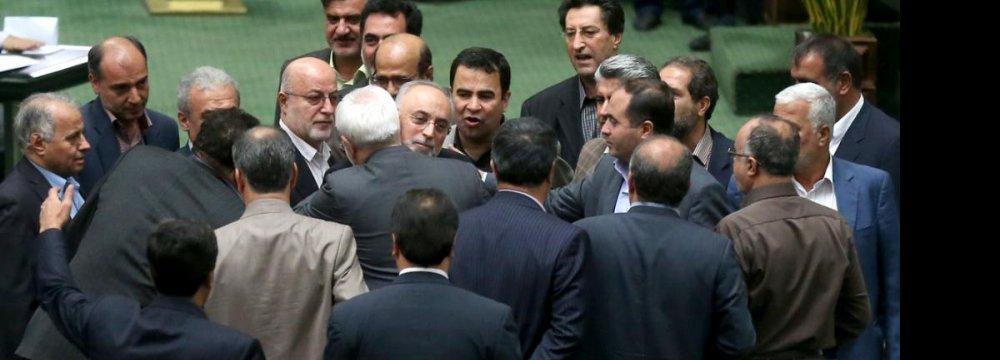 Majlis Gives  Nod to JCPOA