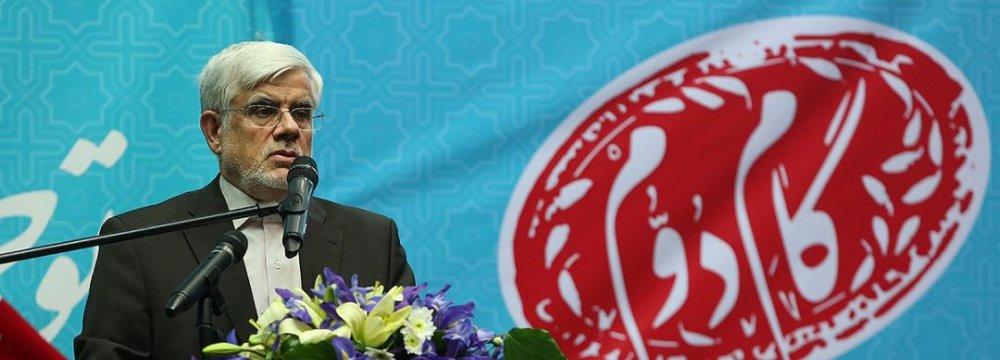 Reformist Leader Challenges Rivals to Debate