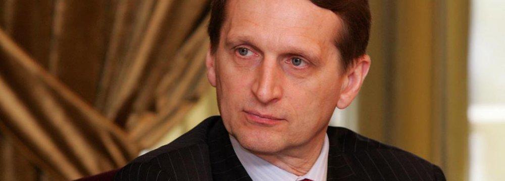 Lawmaker Meets Duma Officials