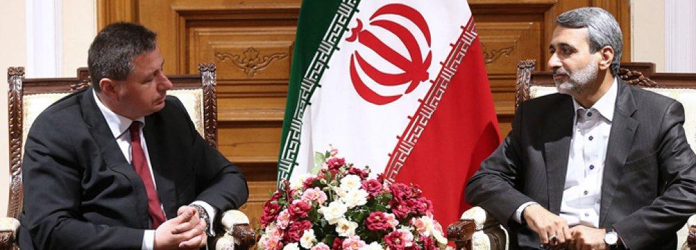 Enhanced Relations Benefit Tehran, Sofia
