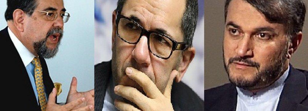 Chile Diplomat, Deputy FMs Confer