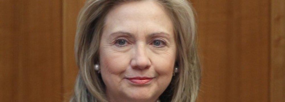 Clinton Defends Obama's Iran Policy