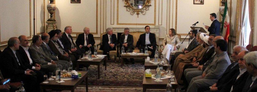Active Diplomacy Critical for Tehran, London