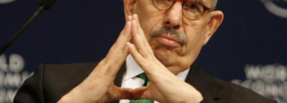 ElBaradei Criticizes West on Nuclear Issue