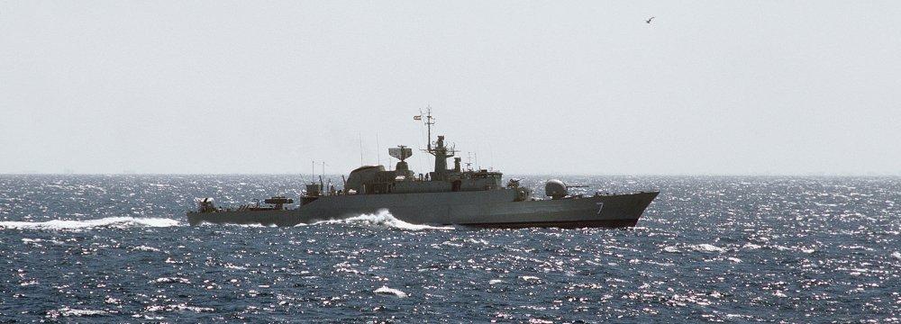 Naval Fleet Heads to Gulf of Aden