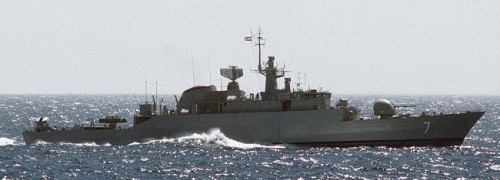 Naval Vessels Cross Equator