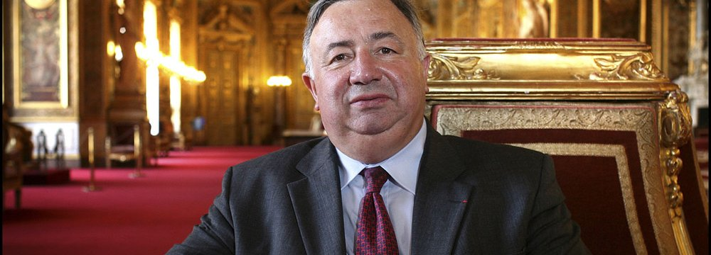 Top French Senator to Visit