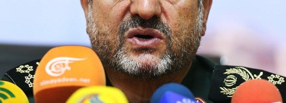 IRGC Chief Warns Against New Syria Plot