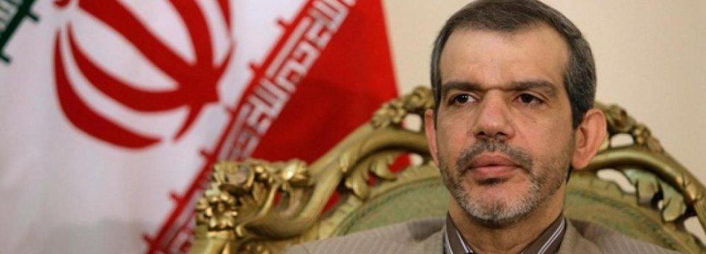 Envoy Meets Iraq Top Diplomat