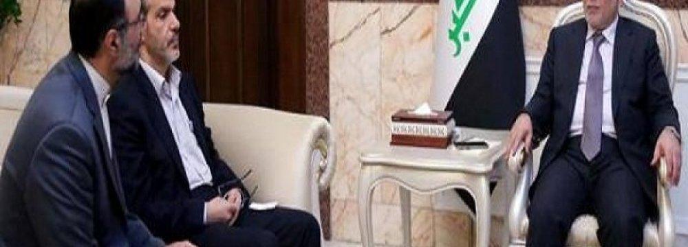 Envoy Meets Iraq PM