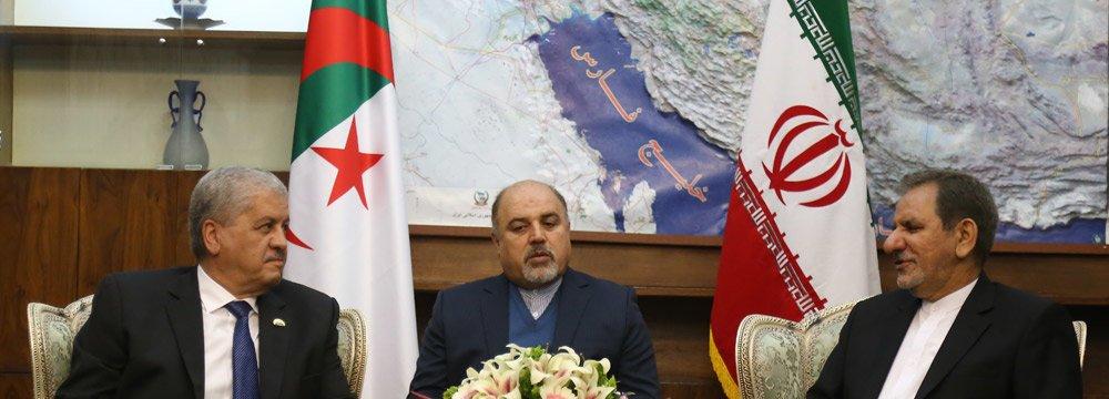 Closer Algeria Ties Promote Development, Security