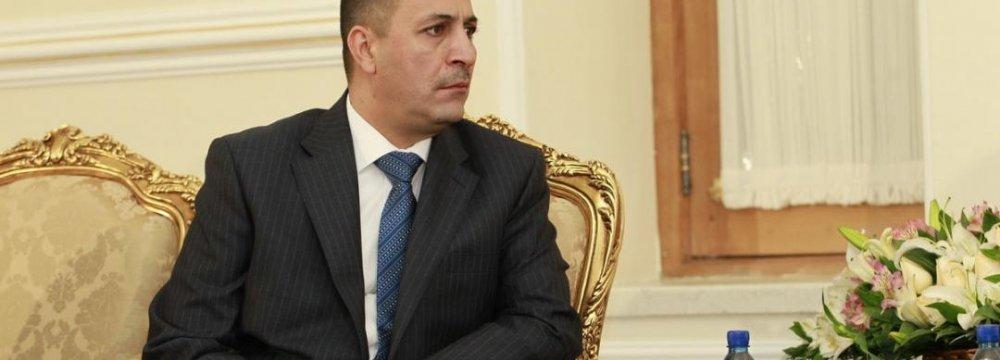 Jordan Envoy Submits Credentials