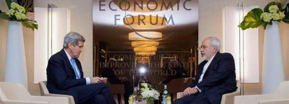 Kerry, Zarif Discuss Americans Missing in Iraq