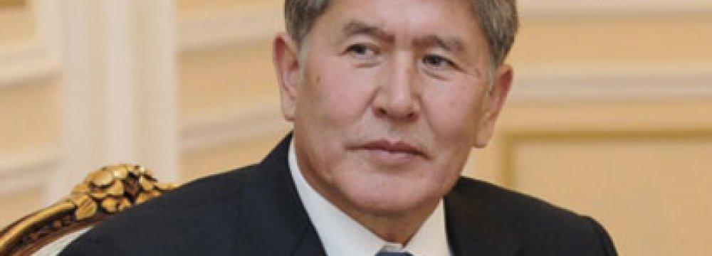 Kyrgyz President  to Visit